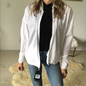Nike Dry Fit white jacket